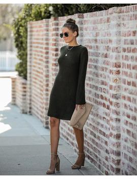 Michigan Bell Sleeve Sweater Dress by Vici