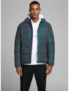 Iridescent Puffer Jacket by Jack & Jones
