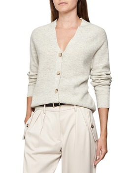 Simone Wool & Cashmere Cardigan by Reiss