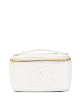Cc Cosmetic Bag by Chanel Pre Owned