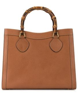 Bamboo Line Tote by Gucci Pre Owned