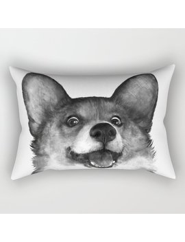 Corgi Rectangular Pillow by Society6