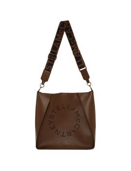 Brown Mini Crossbody Bag by Stella Mccartney