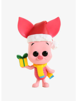 Funko Pop! Disney Winnie The Pooh Holiday Piglet Vinyl Figure by Box Lunch