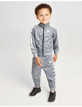 Nike Tape Tricot Tracksuit Infant by Jd Sports