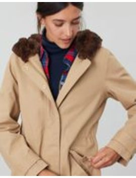 Piper Parka With Fur Trimmed Hood by Joules