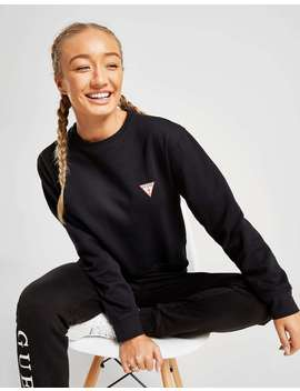 Guess Triangle Crew Sweatshirt by Jd Sports