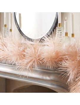 """Pine Pink Garland 83"""" by Crate&Barrel"""