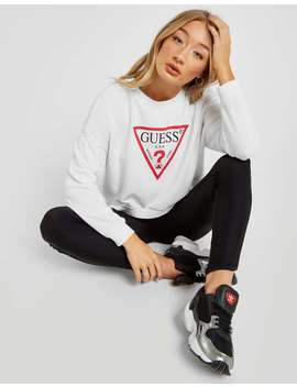 Guess Icon Crew Sweatshirt by Jd Sports
