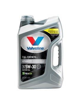 Valvoline Advanced Full Synthetic Sae 5 W 30 Motor Oil   Easy Pour 5 Quart by Valvoline