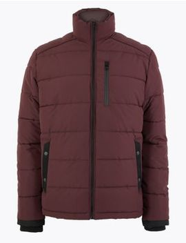 Quilted Puffer Jacket With Thermowarmth™ by Marks & Spencer