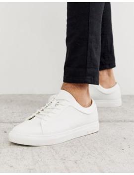 Jack &Amp; Jones Classic White Leather Sneaker by Jack & Jones
