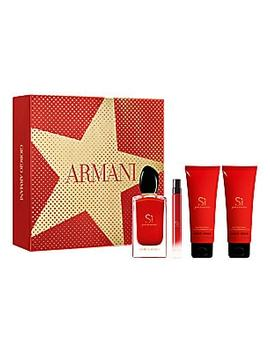 Si Passione 4 Piece Eau De Parfum Gift Set   $186 Value by Giorgio Armani