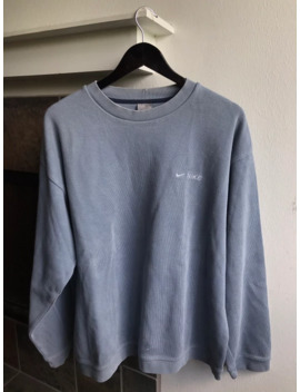 Vintage Nike Swoosh Spellout Crewneck Sweater Size Xl by Nike  ×  Vintage  ×