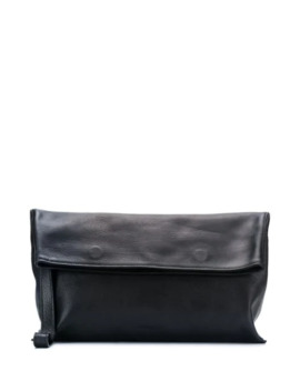 Foldover Clutch Bag by Ann Demeulemeester