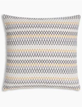 Geo Chenille Cushion by Marks & Spencer