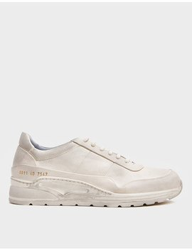Cross Trainer In Leather by Common Projects Common Projects