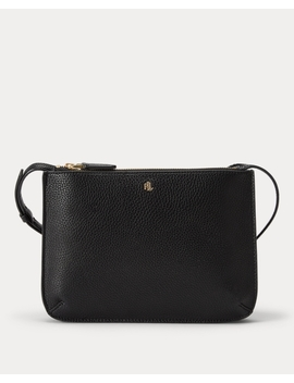 Faux Leather Carter Crossbody by Ralph Lauren