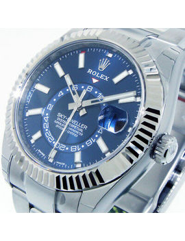 Rolex 326934 Steel Sky Dweller 42 Mm Blue Dial Oyster Annual Calendar 326934 by Rolex
