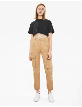 Cargo Joggers  Trousers   Women | Bershka by Bershka