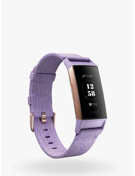 Fitbit Charge 3 Special Edition, Health And Fitness Tracker With Nfc, Purple by Fitbit