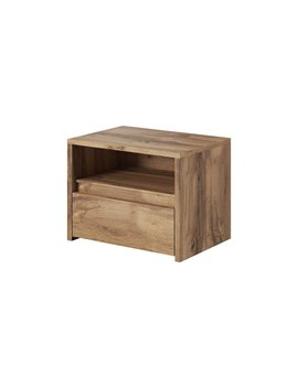Kayli 1 Drawer Bedside Table by Mercury Row