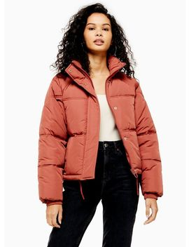 Rose Padded Puffer Jacket by Topshop