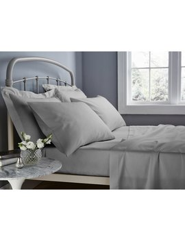 500 Thread Count Easy Care Fitted Sheet by Catherine Lansfield
