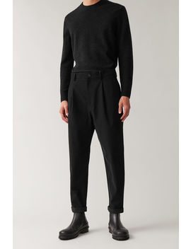 Cotton Moleskin Trousers by Cos