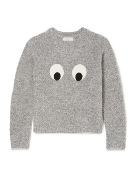 Pullover Aus Bouclé Mit Applikationen by Stella Mc Cartney Kids