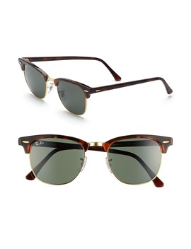 Classic Clubmaster 51mm Sunglasses by Ray Ban