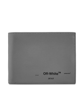 Off White Logo Billfold Wallet by Off White