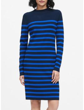 Mariner Stripe Sweater Dress by Banana Repbulic