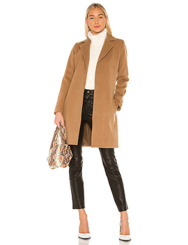 Jack By Bb Dakota Keep Your Secrets Wrap Coat In Camel by Bb Dakota