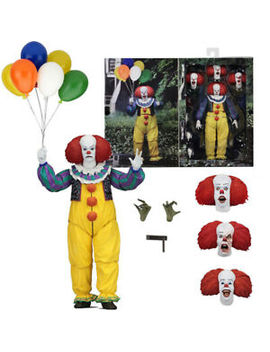 The Movie It 1990 Neca Pvc Action Figure Pennywise Clown Collection Model Toy 7\ by Unbranded