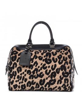 Louis Vuitton Jacquard Velvet Leopard Print Stephen Sprouse Speedy by Louis Vuitton