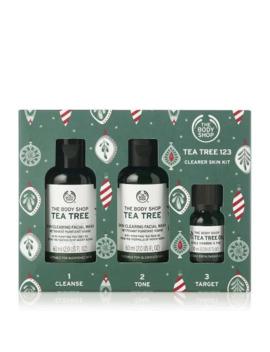 Tea Tree 123 Clearer Skin Kit by The Body Shop