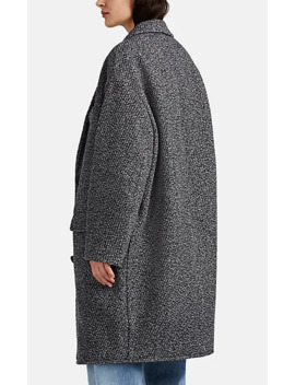 Wool Blend Oversized Cocoon Coat by Isabel Marant Étoile