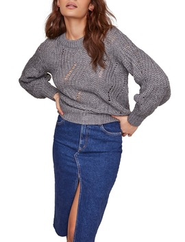 Dora Blouson Sleeve Sweater by Astr The Label