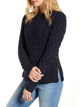 Fisherwoman Crewneck Pullover Sweater by 1901