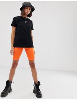 Asos Design – T Shirt Mit Kleinem Hello Symbol by Asos