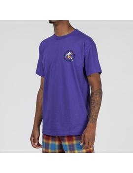 Pleasures Crossover T Shirt / Purple by Pleasures