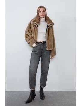 Faux Fur Jacket Best Sellerswoman by Zara