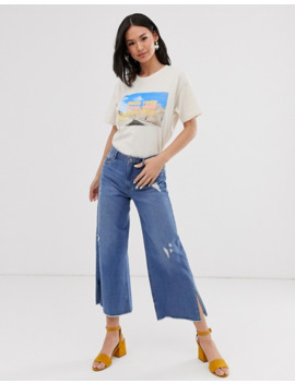 "Daisy Street – Oversize T Shirt Mit ""Good Time"" Grafikdruck by Asos"