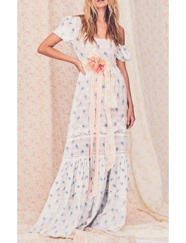 Ryan Floral Print Cotton Voile Maxi Dress by Love Shack Fancy