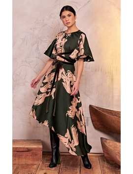 el-despertar-de-la-esencia-printed-georgette-maxi-dress by johanna-ortiz