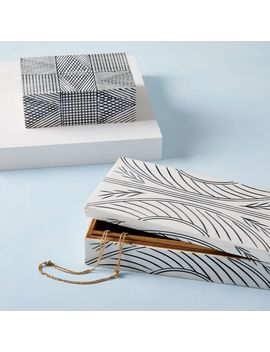 Linework Resin Boxes by West Elm