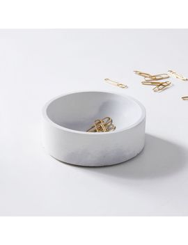 Pretti.Cool Concave Vessel   Gray + White by West Elm