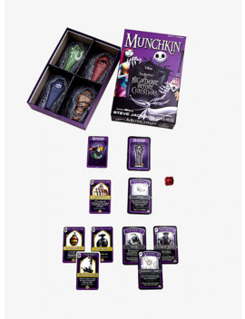 Disney The Nightmare Before Christmas Munchkin Game by Box Lunch