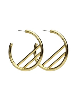 Large Hoop Earrings by Ben Amun